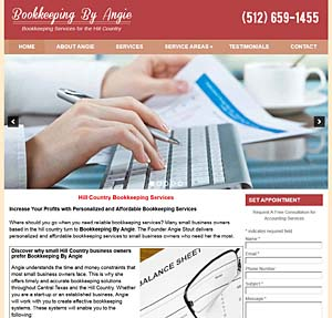 bookkeeping by Angie