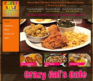 Crazy Gals Cafe